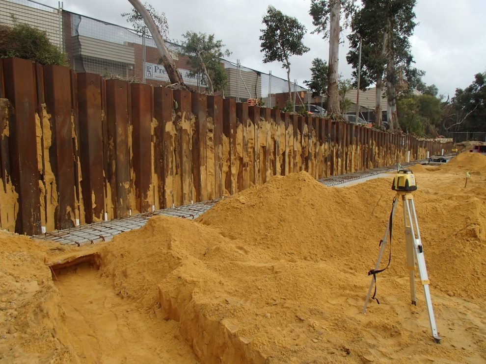 Sheet Piling Contractors Perth Dvh Industries