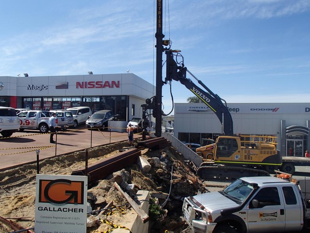 Sheet Piling Contractors Perth - DVH Industries